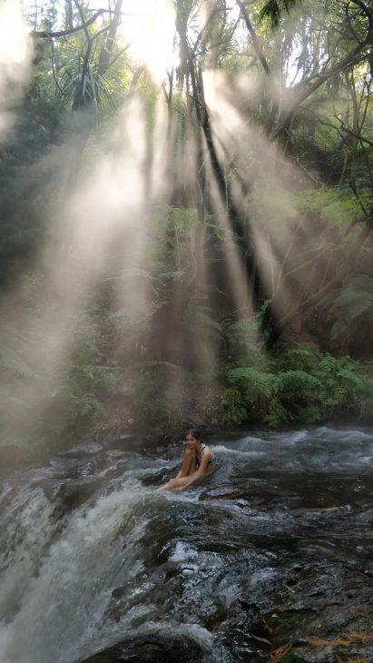 Kerosene Creek near Rotorua