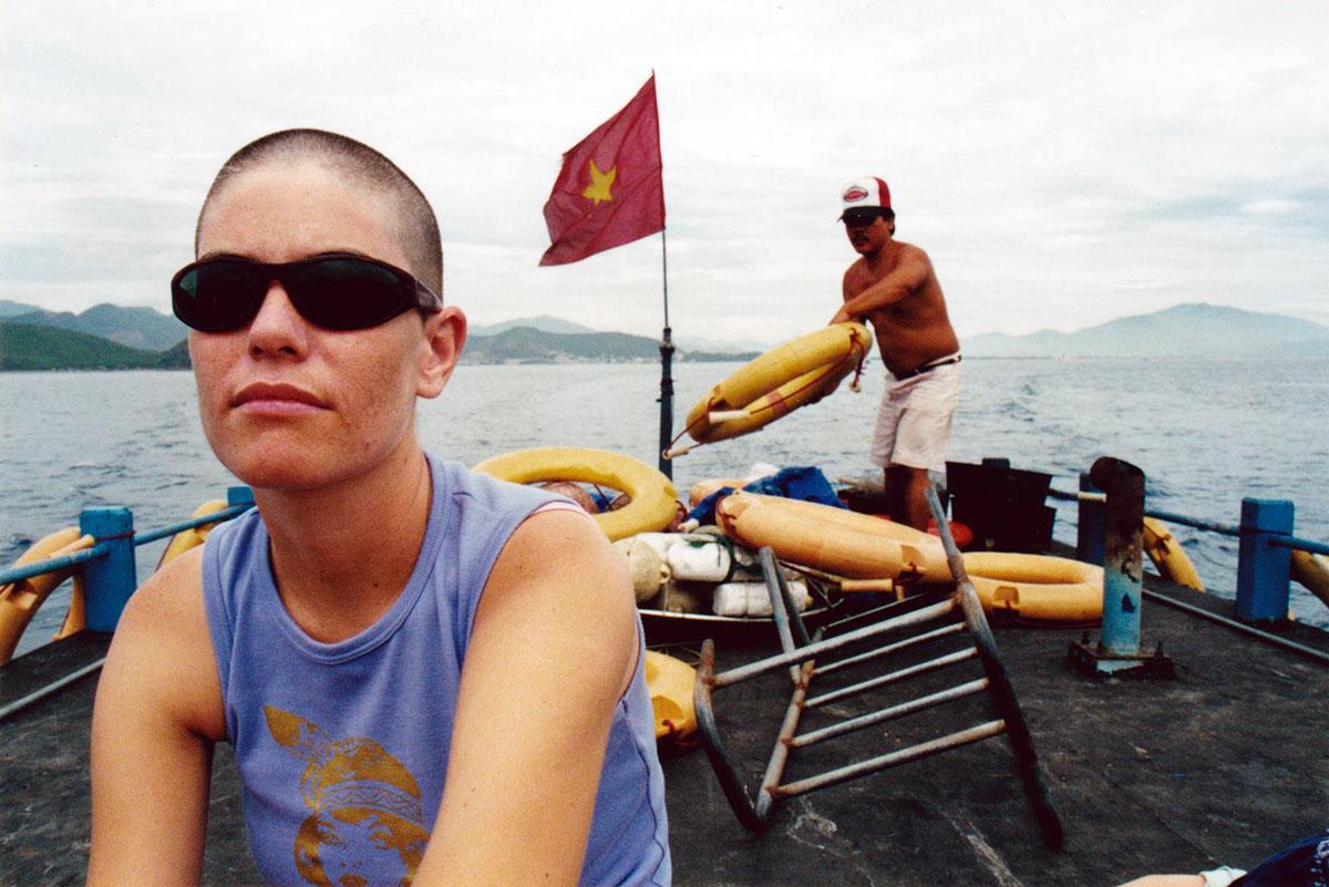 Sailor in Halong Bay