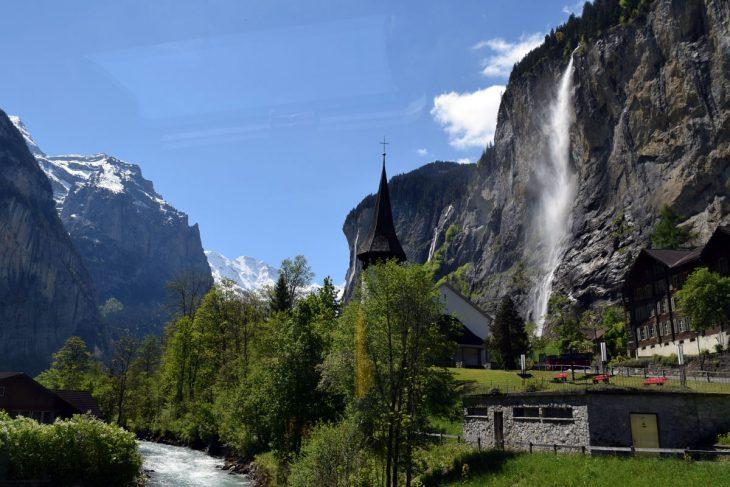 Switzerland Waterfall