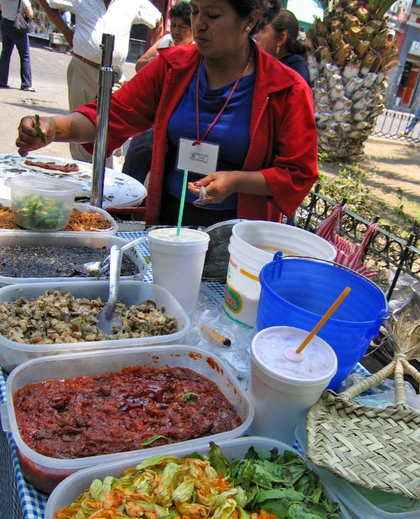 Market Food Seller