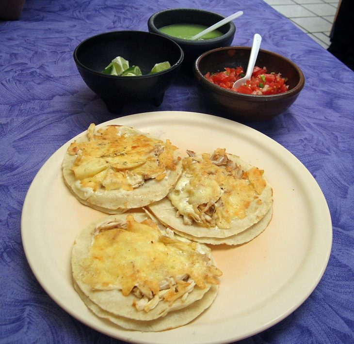 Chicken and Cheese Tacos