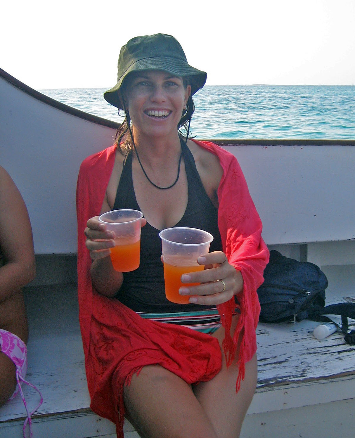 Rum on a boat