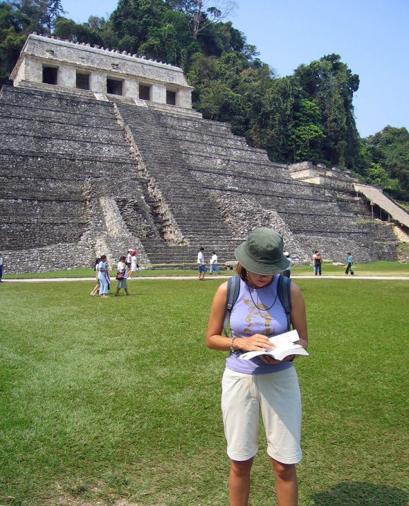 Palenque Mayan ruins in Mexico
