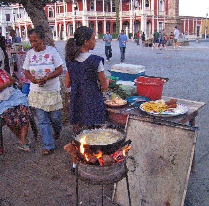 Market Food in Nicaragua