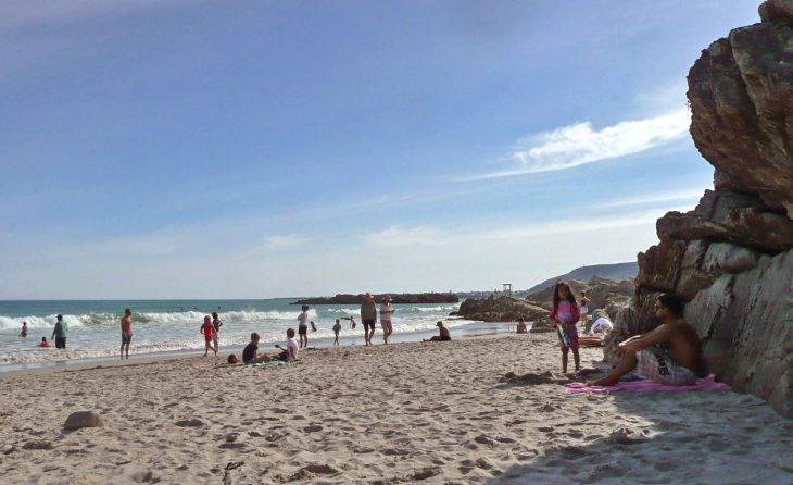 Voëlklip Beach in Hermanus