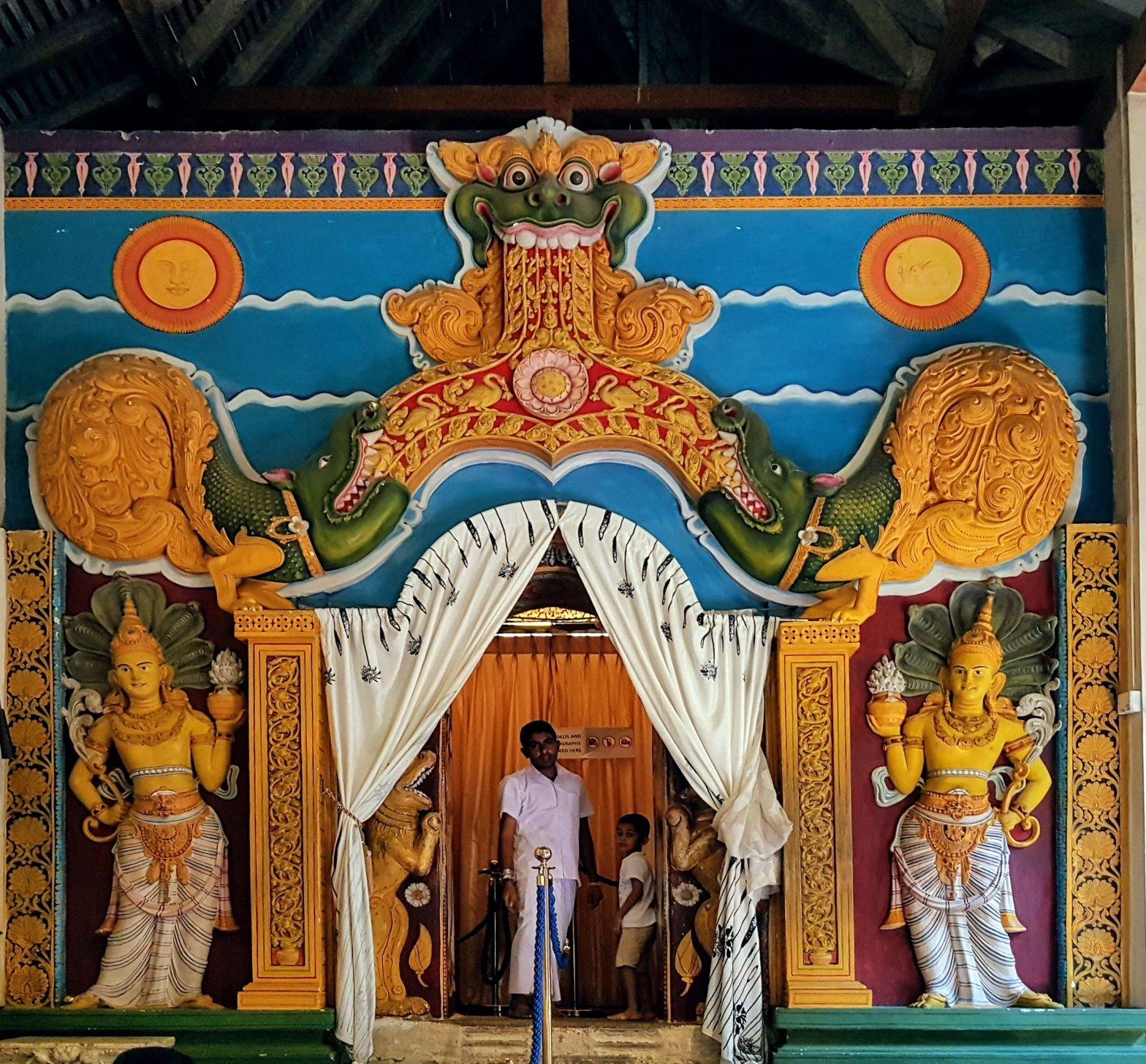 Kandy Temple Entrance