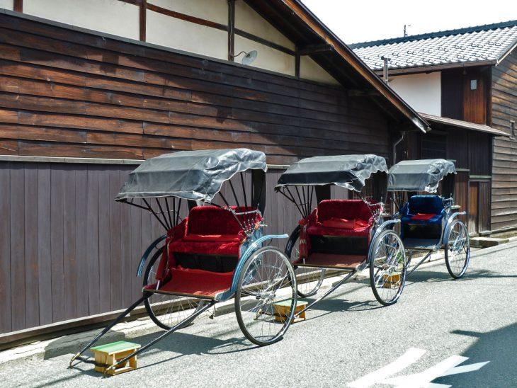 Japanese Rickshaws