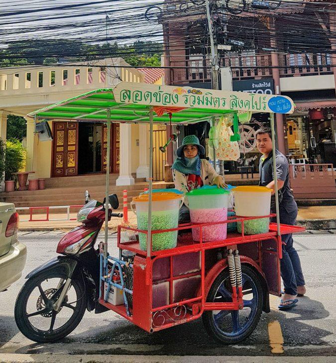 Thai Street Vendor