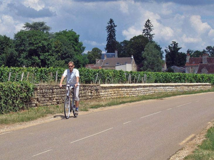 Cycling Dijon France