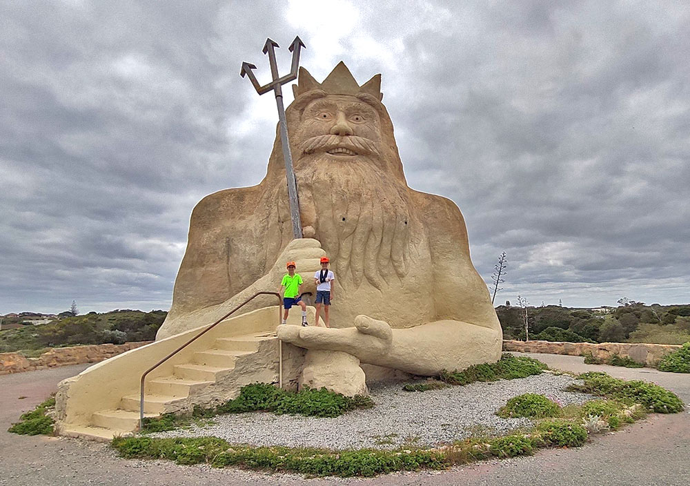 King Neptune from Atlantis Theme Park