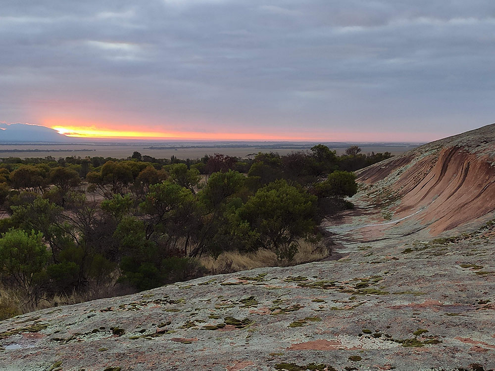 Pildappa Rock Sunrise
