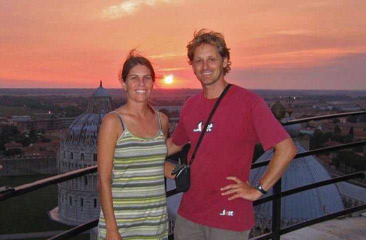 Pisa sunset