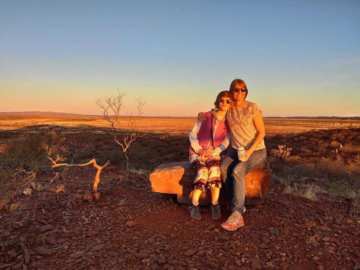 Cheela Plains Sunset