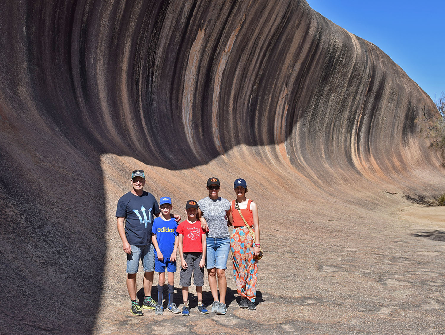 Wave Rock Family