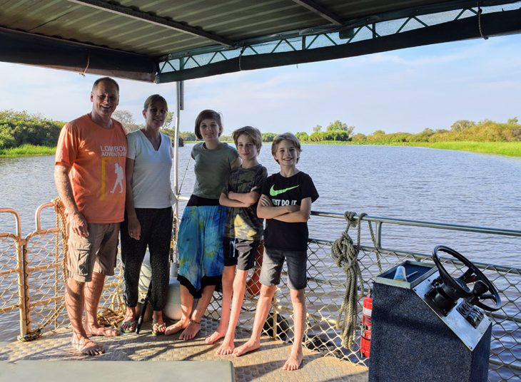 Family Houseboat