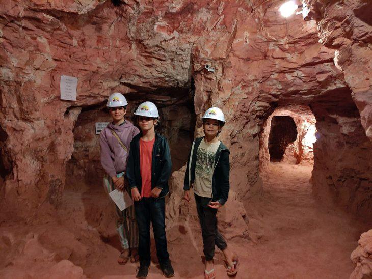 Old Mine Tour