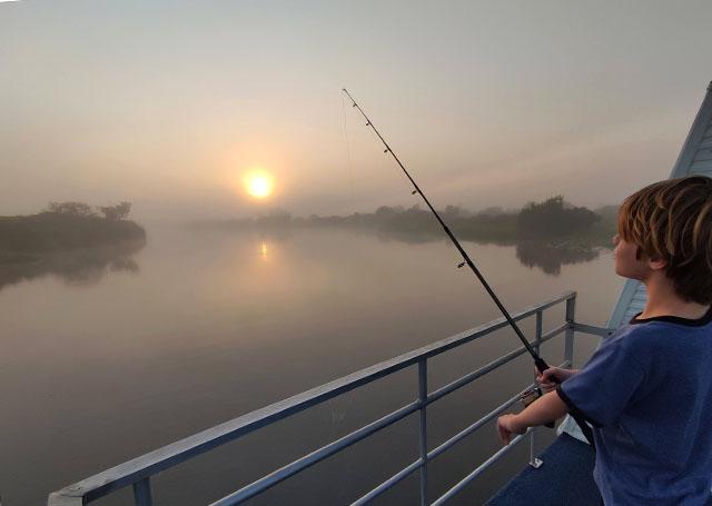 Sunrise Fishing