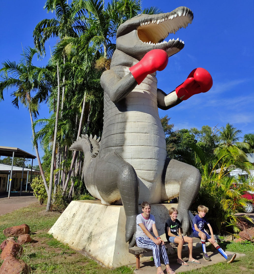 Big Boxing Croc Humpty Doo