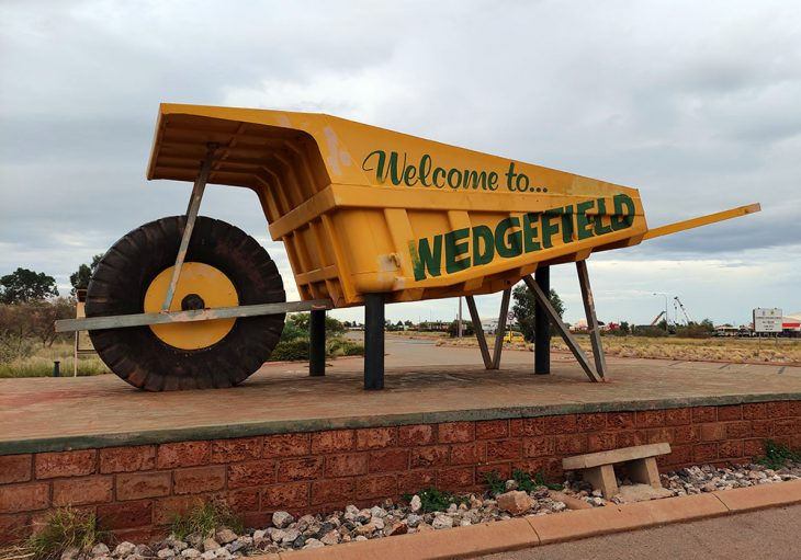 Big Wheelburrow Port Hedland