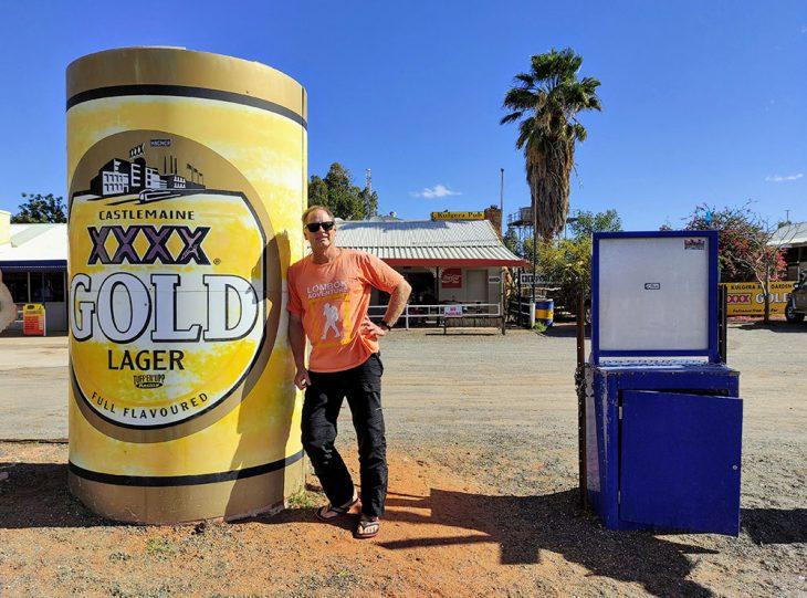 Big XXXX Gold Lager