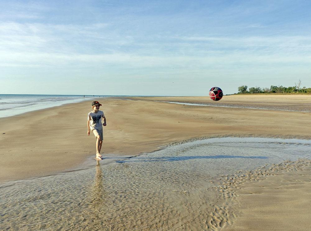 Casuarina Beach in Darwin