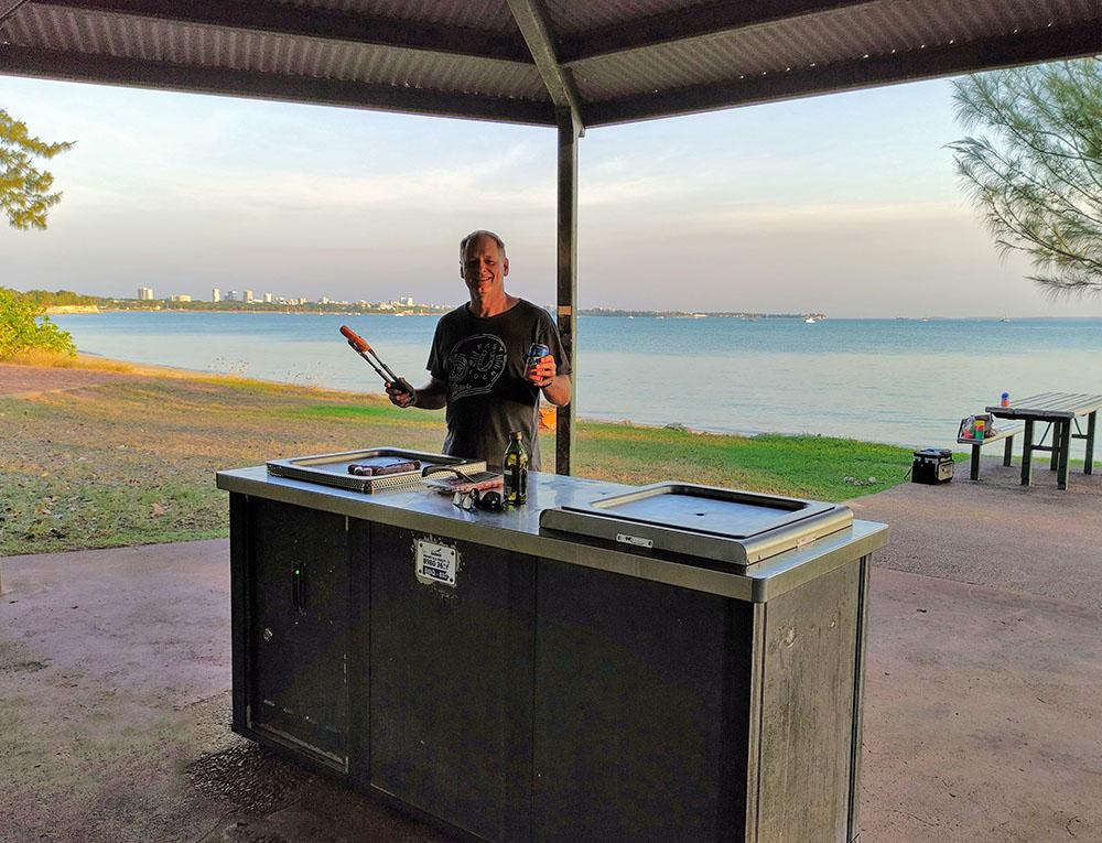 East Point BBQ in Darwin