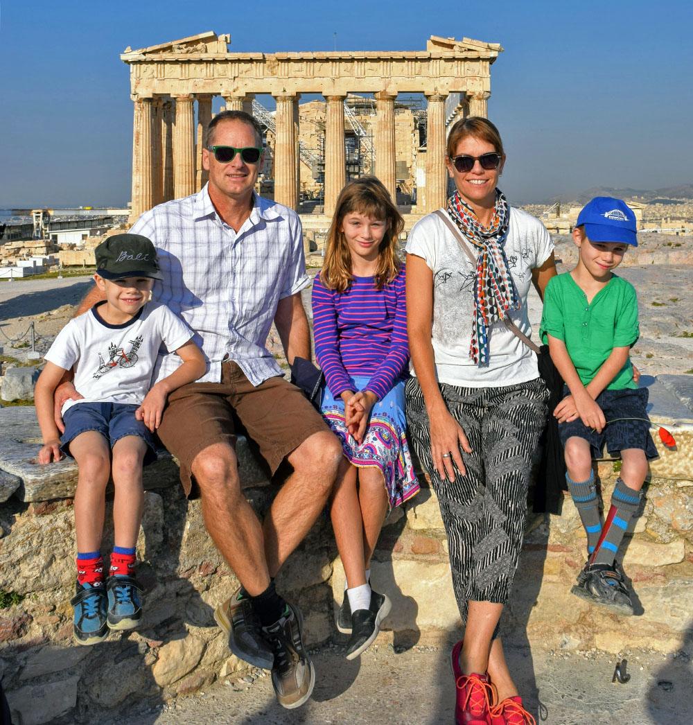 Greece Family